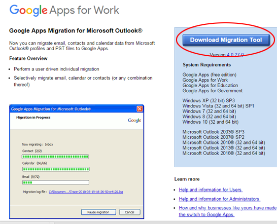 Zimbra to Gmail Migration - Gust