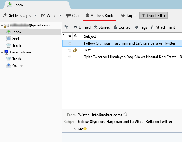 Zimbra to Thunderbird Migration — Convert Emails from TGZ to
